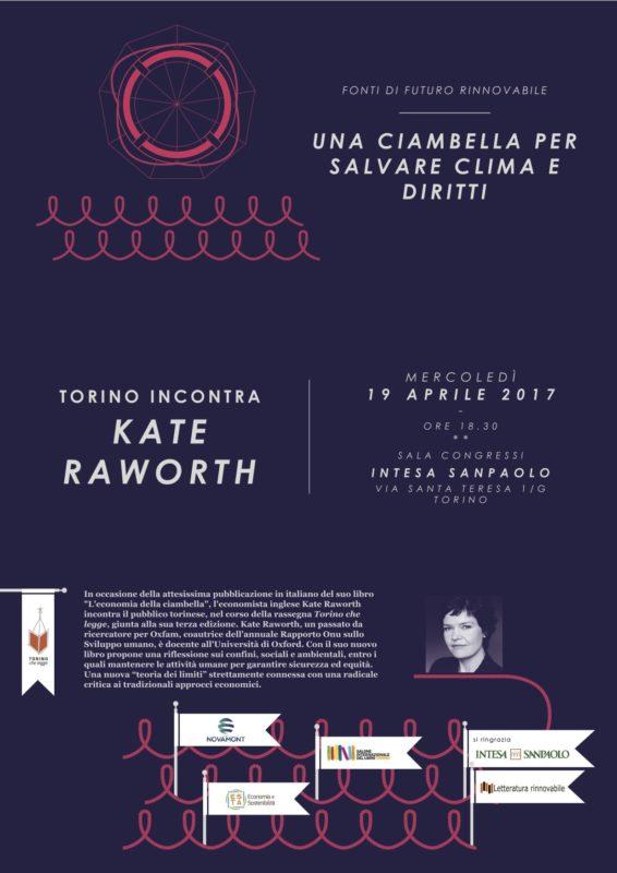Kate Raworth a Torino